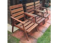 HARDWOOD CHAIRS MADE BY BRANSON