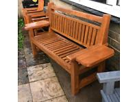 Hand made benches