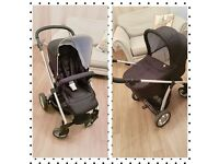 Mamas and Papas Sola Pushchair Travel System Carry Cot Raincover