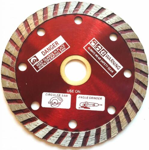 "4 1/2"" Diamond Blade fits angle grinder for concrete, masonry, stone 4.5"