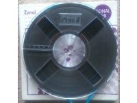 ZONAL 675 Professional Reel To Reel Magnetic Tape - 1200FT/365M - Boxed