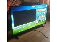"SMART 43"" Bush LED HD TV FREEVIEW WIFI ETC"