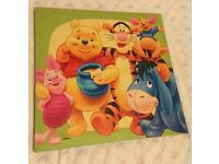 Big Winnie the Pooh canvas