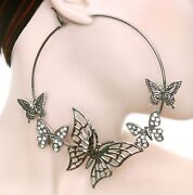 Basketball Wives Butterfly Earrings