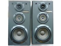 Pair of Pioneer S-P710 90W Inpedance 8 Ohm 3-Way Speaker System Stereo Speakers