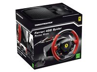 Xbox One Steering Wheel - Ferrari Spider 458