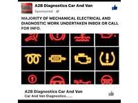 MOBILE MECHANIC / DIAGNOSTICS / BRAKES / SERVICING / SUSPENSION / JUMPSTART / ENGINE / GEARBOX