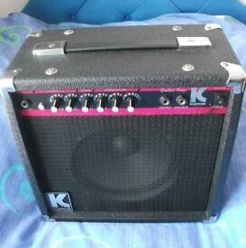 Kustom KLA20 20W Electric Guitar Amplifier ( amp )