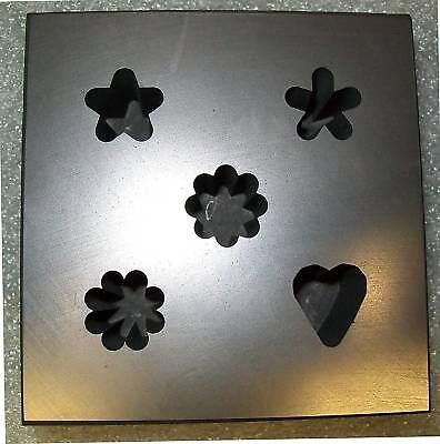 5-IN-1 Tuffnell Murini Mold Graphite Glass Lampwork