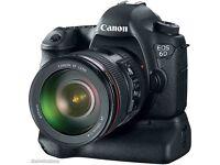 Canon Eos 6D + 24-105L + Battery Grip VG condition