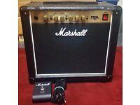"""Marshall DSL5C: 5W, all-valve combo with 10"""" Celestion speaker."""