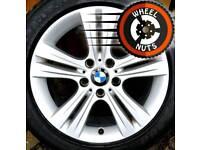 "17"" Genuine BMW 3 Series alloys Renault Trafic Vauxhall Vivaro excel cond match tyres."