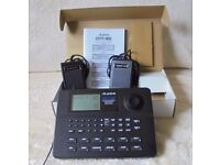 Alesis SR 16 Digital Drum Machine - As new condition- With foot pedals