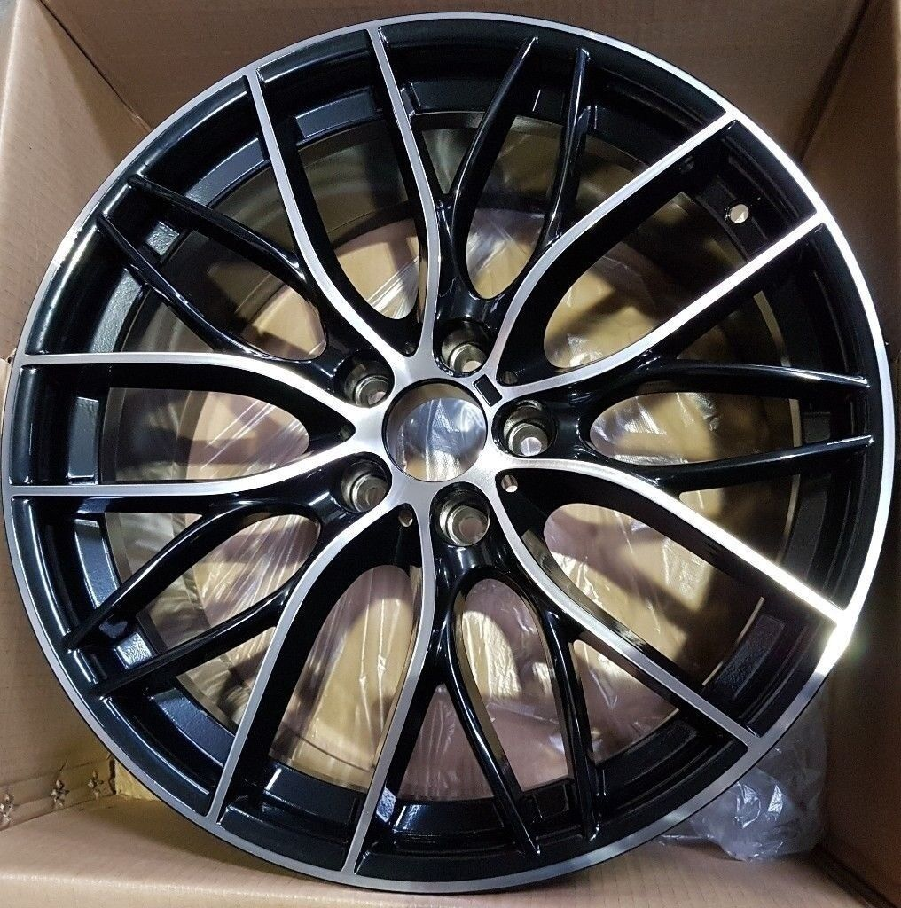 "20"" 405m Style Alloy Wheel in Black staggered for BMW"