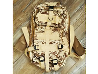 Military Tactical 30L Oxford Backpack for Camping Traveling Hiking Trekking