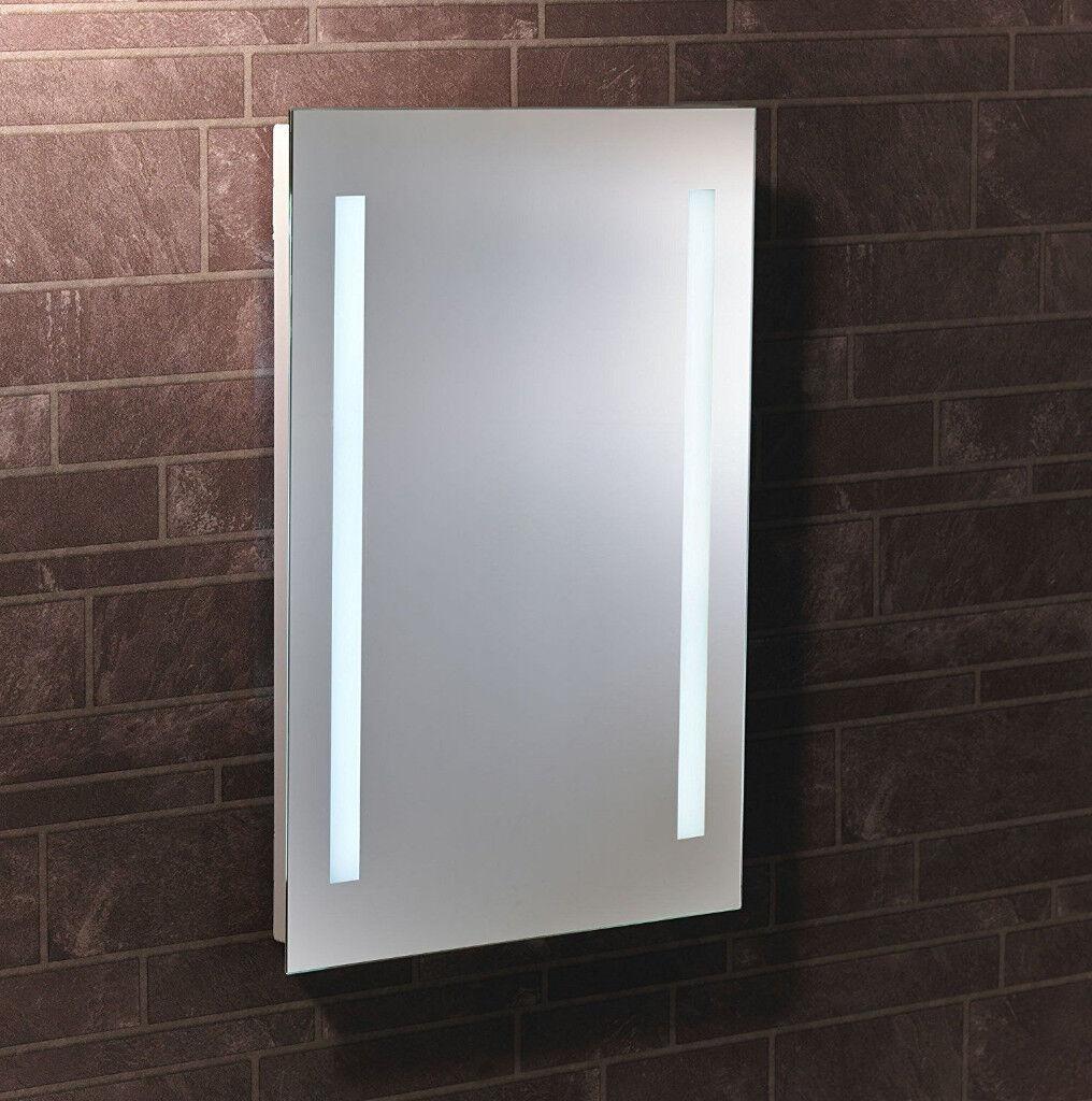 lumino cadenza led battery mirror