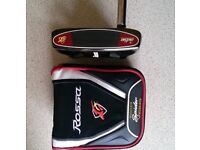 TaylorMade Rossa Monza Spider Putter 34 inch R/H inc Head Cover As NEW