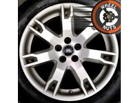 "18"" Genuine Rangerover Evoque Discovery Sport alloys excellent tyres."