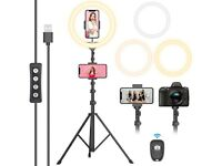 """12"""" Selfie Ring Light with Tripod Stand"""