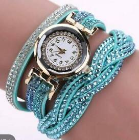 BLING WRAP AROUND WATCH