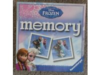 "Disney ""Frozen"" Memory Game - suits 3 to 6 years - £3"