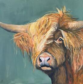 Hamish the Highland Cow - Emily Johnston Artist