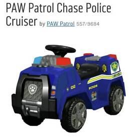Paw patrol 6v chase truck