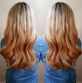 Hair Extensions Service fully qualified and insured...offering 10% off your booking