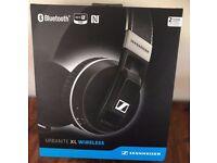 Sennheiser Urbanite XL Around-Ear Wireless Headphones- Black New open box