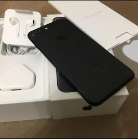 IPhone 7 Plus Matte Black Condition Like New