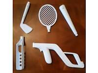 Nintendo Wii sports accessories