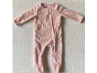 Minoti Baby Girl Sleepsuit 6 - 9 Months