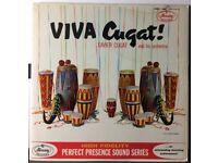 Viva Cugat! 12 inch VINYL. Xavier Cugat