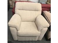 Fabric manual recliner Armchair