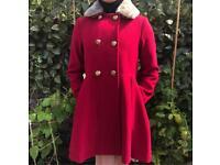 Girls Monsoon Ref Coat- very smart