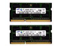 8GB samsung SODIMM DDR3