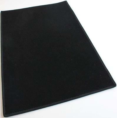 Black Indoor Outdoor Durable Soft Area Rug Carpet for Porch