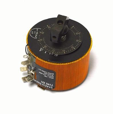 Staco Energy Type 221 Variable Transformer 120 Vac 2.25 Amps
