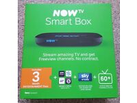 **** BRAND NEW - NowTv Smart Box and 3 Months Entertainment Pass ****