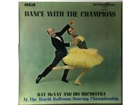 RAY McVAY, Dance With The Champions 12 inch VINYL