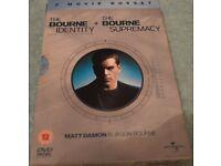 Bourne Identity & Supremacy Boxset DVD's