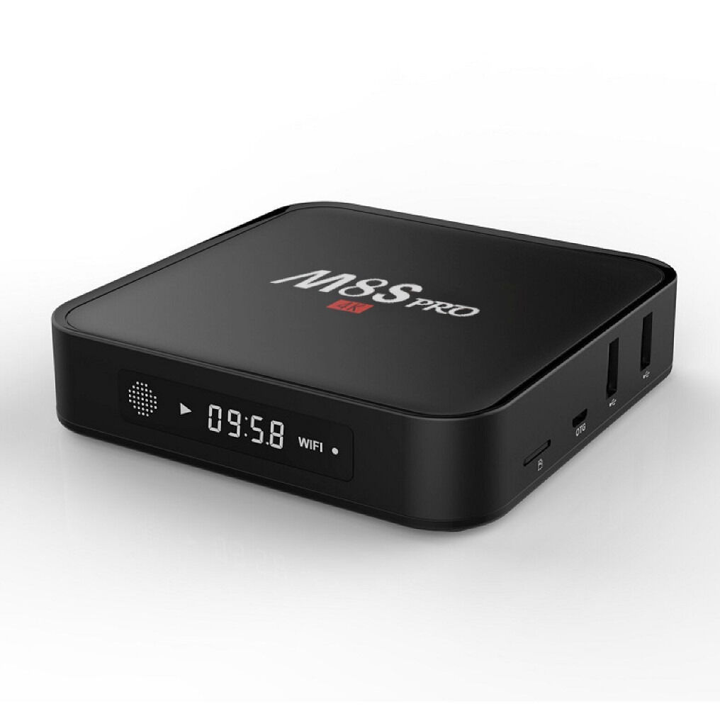 Android TV BoxesKodi 16.1Sports, Movies, TV Shows, KIDS, Fitness, Live TV and much morein Gorton, ManchesterGumtree - Android TV Boxes for Sale with Kodi 16.1 Unlimited entertainment with Kodi 16.1 Sports Movies TV Shows Live TV Fitness Kids and much more Prices are MXQ Pro £40 M8S Pro £55 M9S Pro £65 X96 £65 T95 R Octacore £70 Rii i8 Keyboard with Backlight...