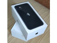 iPhone 11, Black, 64GB, A2221 - Box Only