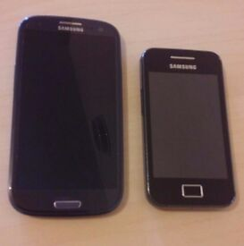 Samsung S3 & Galaxy Ace (both not working)