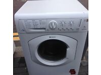 HOTPOINT 7kg SUPER SILENT WASHER DRYER FREE DELIVERY AND WARRANTY