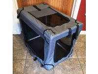 FABRIC PET KENNEL / HOME FOR CATS and DOGS