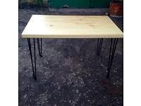 Brnad New table with Hairpin Legs