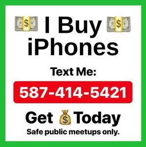 Get cash today. Sell your iPhone to me.
