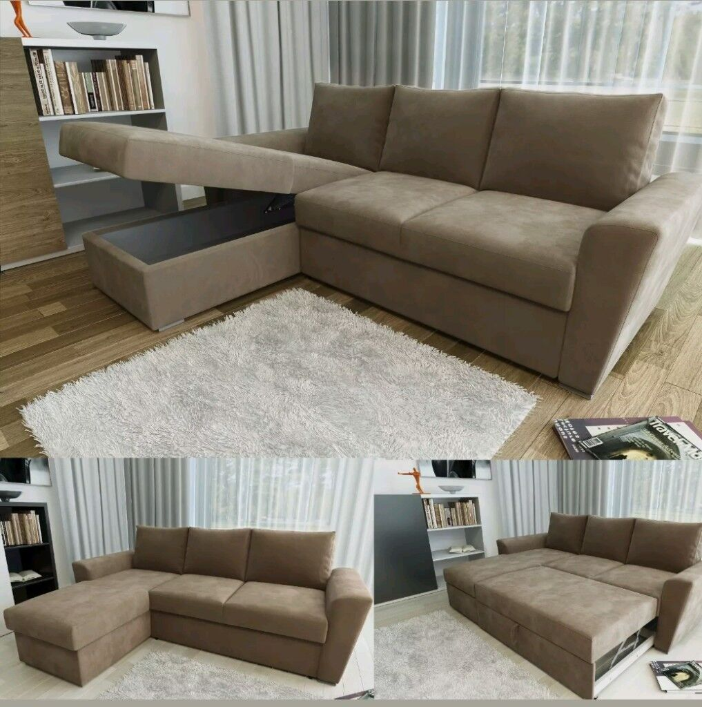 CORNER SOFA BED. NOT WASTER TIME