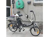 Electric woman's bike